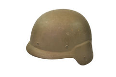Kevlar Army Helmet Royalty Free Stock Photography