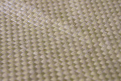 Kevlar Fiber in macro view. These gold fiber is that all the racer looking for Stock Image