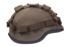 Kevlar helmet with cover Royalty Free Stock Image
