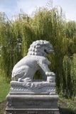 Kew庭院雕象 库存照片