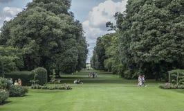 Kew庭院,公园 免版税图库摄影