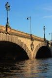 Kew Bridge. And River Thames Stock Photo