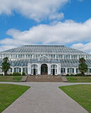 Kew Gardens. A view of the Temperate House at Kew Gardens in London, UK Stock Photography