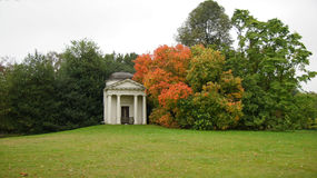Kew gardens autumn landscape in London Royalty Free Stock Photography