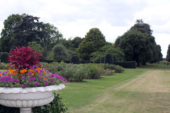 Kew gardens. Flower-bed Royalty Free Stock Images