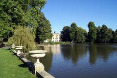 Kew gardens. Kew landscape, London, England Stock Images