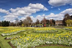 Kew gardens in London. The Royal Botanic Gardens, Kew was founded in 1759 and declared a UNESCO World Heritage Site in 2003 Stock Photos
