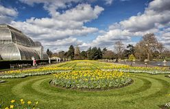 Kew gardens in London. The Royal Botanic Gardens, Kew was founded in 1759 and declared a UNESCO World Heritage Site in 2003 Stock Images