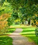 Kew Gardens park Stock Photos