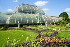 Kew greenhouse Royalty Free Stock Photography