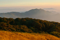 Kew Mae Pan Doi Inthanon Tropics Royalty Free Stock Photo