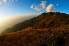 Kew Mae Pan Doi Inthanon Tropics cloud. Kew Mae Pan, Doi Inthanon, Chiang Mai, Thailand, Sunset, landscape, views Tropics cloud Stock Images