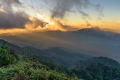 Kew Mae Pan Nature Trail en el parque nacional de Doi Inthanon Imagen de archivo libre de regalías
