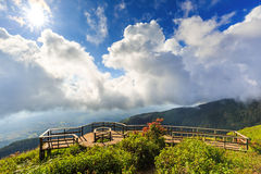 Kew Mae Pan panoramic vantage point Royalty Free Stock Photography