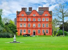 Kew pałac w ogródzie botanicznym, Londyn, UK zdjęcie stock