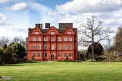 Kew palace in London Stock Image