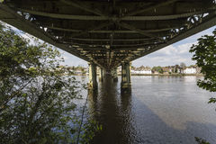Kew Railway Bridge Royalty Free Stock Photo