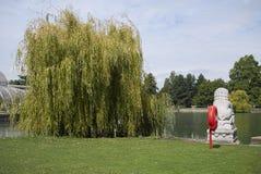 Kew trädgårdstaty fotografering för bildbyråer