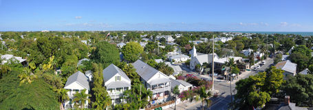 Kew West panorama, Florida, USA Royalty Free Stock Photos