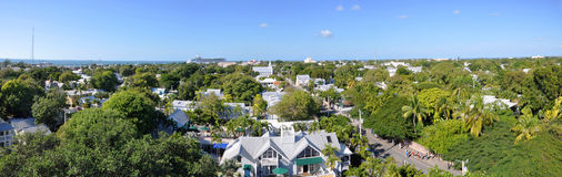 Kew West panorama, Florida, USA Royalty Free Stock Images