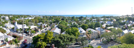 Kew West panorama, Florida, USA Royalty Free Stock Photo