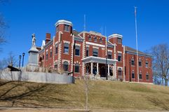 Kewaunee County Courthouse Royalty Free Stock Images