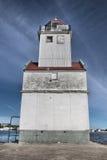 Kewaunee Pier Head, WI lizenzfreie stockfotos