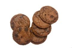 Kex eller kakor för chokladchip royaltyfri bild