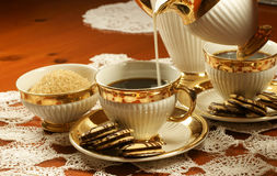 kexkaffe Royaltyfria Bilder
