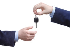 key övergående person för bil Royaltyfria Foton