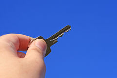 Key. Symbolic key to property, real estate, success, or business Stock Images
