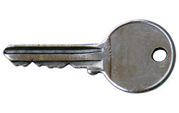 Key. This is a metal key Royalty Free Stock Photography