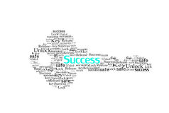 Key. For success make with Words Stock Photos