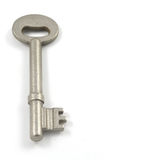 Key. On a white background Stock Photography