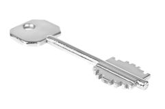 Key. Over a white background Stock Photography