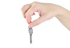 Key. Isolated key on white background Royalty Free Stock Image
