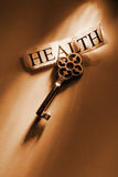 Key. The Key to Health Royalty Free Stock Photography