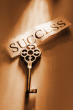 Key. The Key to Success Royalty Free Stock Photos