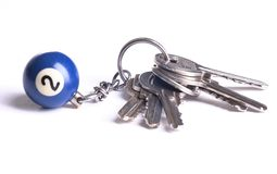 Key. Ring stock photos