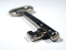 Key. Detail on key Stock Image