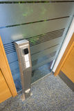 Key access control column Royalty Free Stock Images