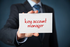 Key account manager Stock Image