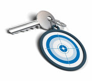 Key for achieving objectives Stock Photography