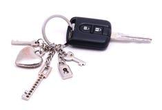 Key with alarm Royalty Free Stock Image