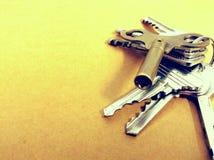 Key on background Royalty Free Stock Image