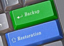 Key for backup and restoration Royalty Free Stock Photo