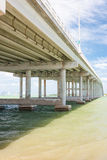 The Key Biscayne bridge in Miami Royalty Free Stock Image