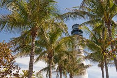 Key Biscayne lighthouse Stock Photos