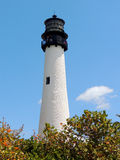 Key Biscayne Lighthouse Royalty Free Stock Photography