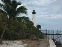 Key Biscayne Lighthouse Royalty Free Stock Photo